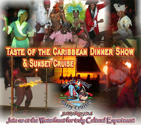 Jolly Roger Taste of the Caribbean Sunset Cruise & Dinner Show