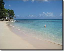 Barbados West Coast Beach Scenes